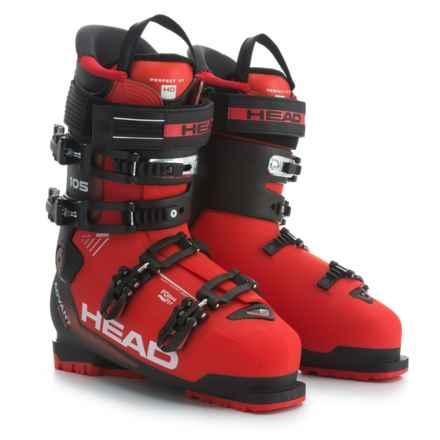 Head Advant Edge 105 Ski Boots in Red/Black - Closeouts