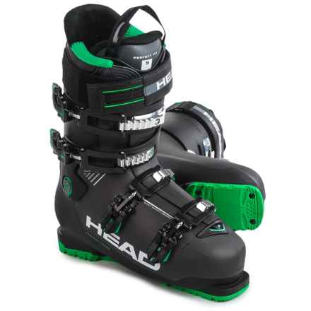 Head Advant Edge 95 Ski Boots in Anthracite/Black/Green - Closeouts