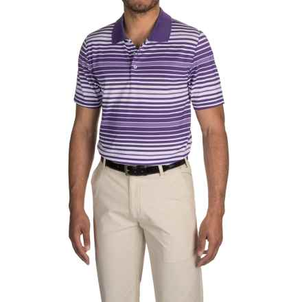 Head Advantage Dri-Motion® Polo Shirt - Short Sleeve (For Men) in Paisley Purple - Closeouts