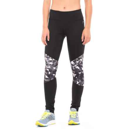 Head Alana Pieced Print Leggings (For Women) in Black - Closeouts