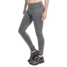 Head Alice Keyhole Brushback Leggings (For Women) in Charcoal Heather - Closeouts