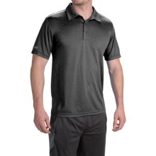 Head All-In Polo Shirt - Short Sleeve (For Men) in Black Heather - Closeouts