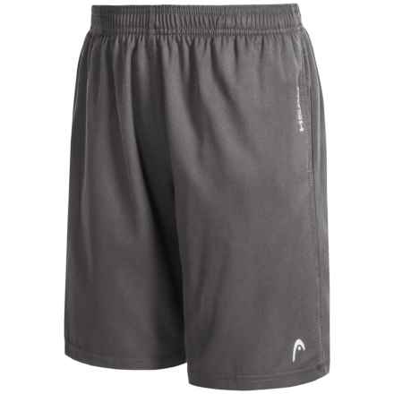 Head Break Point Active Shorts (For Big Boys) in Asphalt - Closeouts