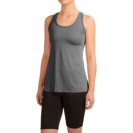 Head Cassandra Split-Back Tank Top - Racerback, Slim Fit (For Women) in Charcoal Heather - Closeouts