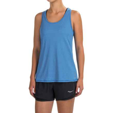Head Cassandra Split-Back Tank Top - Racerback, Slim Fit (For Women) in Directoire Blue - Closeouts