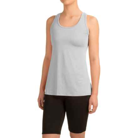 Head Cassandra Split-Back Tank Top - Racerback, Slim Fit (For Women) in Grey Heather - Closeouts