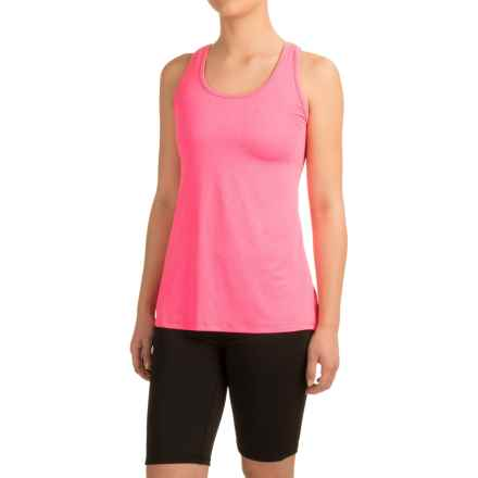 Head Cassandra Split-Back Tank Top - Racerback, Slim Fit (For Women) in Knockout Pink Heather - Closeouts