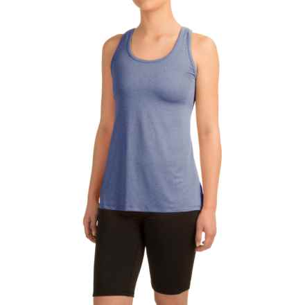 Head Cassandra Split-Back Tank Top - Racerback, Slim Fit (For Women) in Medival Blue Heather - Closeouts