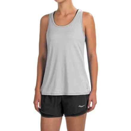 Head Cassandra Split-Back Tank Top - Racerback, Slim Fit (For Women) in Silver Sconce - Closeouts