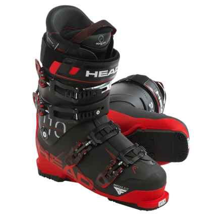 Head Challenger 110 Alpine Ski Boots (For Men) in Black/Red - Closeouts