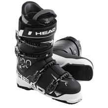 Head Challenger 120 Alpine Ski Boots (For Men) in Black/White - Closeouts