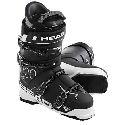 Head Challenger 120 Alpine Ski Boots (For Men) in Black/White - Closeouts