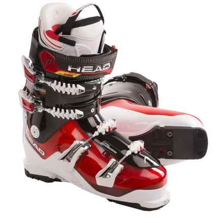 Head Challenger 130 Ski Boots (For Men) in Red/White/Black - Closeouts