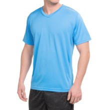 Head Champ T-Shirt - V-Neck, Short Sleeve (For Men) in Azure Blue - Closeouts