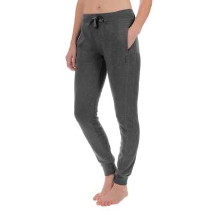 Head City Ribbed Cuff Joggers (For Women) in Charcoal Heather - Closeouts