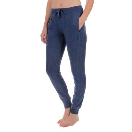 Head City Ribbed Cuff Joggers (For Women) in Medieval Blue Heather - Closeouts