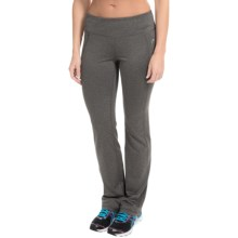 Head Classic Yoga Pants - Straight Leg (For Women) in Charcoal Heather - Closeouts