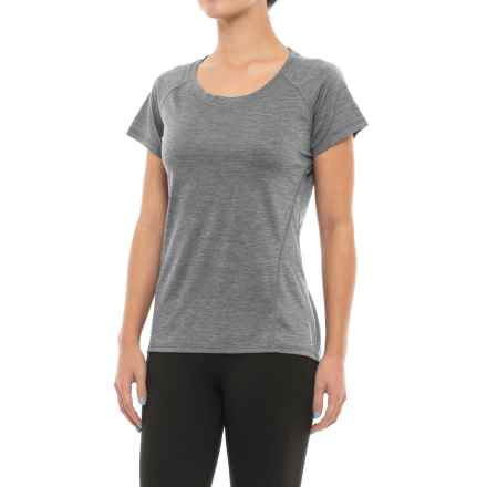 Head Coastal Tonal Space-Dye T-Shirt - Short Sleeve (For Women) in Black Heather - Closeouts