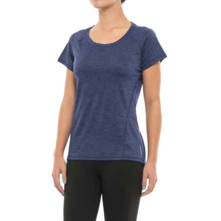 Head Coastal Tonal Space-Dye T-Shirt - Short Sleeve (For Women) in Medieval Blue Heather - Closeouts