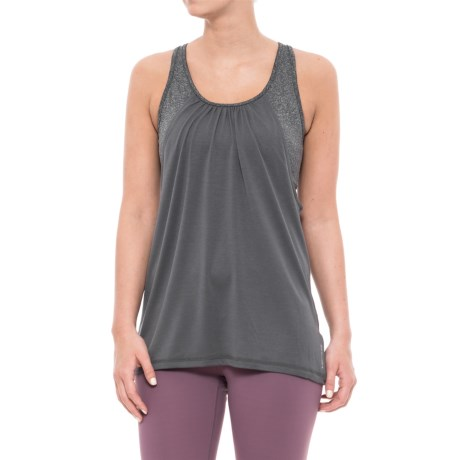 Head Contender Tank Top with Built-In Sports Bra - Medium Impact (For Women) in Medium Grey