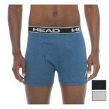 Head Cotton Boxer Briefs - 3-Pack (For Men)