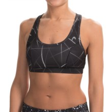 Head Define Me Sports Bra - Medium Impact (For Women) in Black - Closeouts