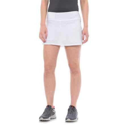 Head Diamond Jacquard Tennis Skort (For Women) in Stark White - Closeouts