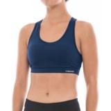 Head Double Keyhole Sports Bra - Removable Cups, Racerback, Medium Impact (For Women)