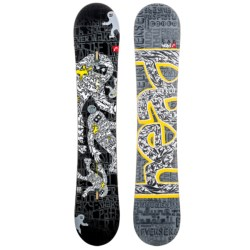 Head Evil KERS Flocka Snowboard (For Men and Women) in See Photo