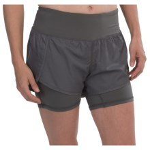 Head Finish Line Woven Running Shorts - Built-In Shorts (For Women) in Castlerock - Closeouts