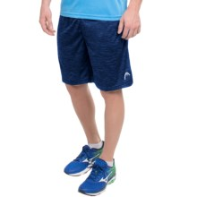Head Fire Starter Shorts - Slim Fit (For Men) in Medieval Blue Heather - Closeouts