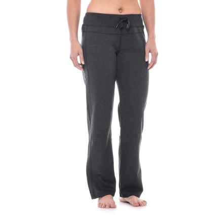 Head Fushion Sweatpants - Straight Leg (For Women) in Black Heather - Closeouts