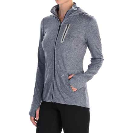 Head FZ Marled Hoodie - Zip Front (For Women) in Nightshadow Blue Heather - Closeouts