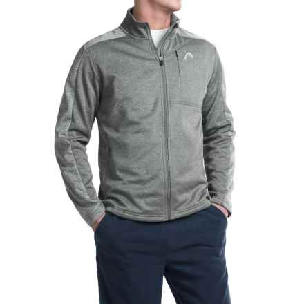Head Glade Heathered Jacket (For Men) in Charcoal Heather - Closeouts