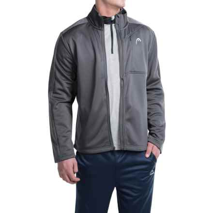 Head Glade Heathered Jacket (For Men) in Nine Iron - Closeouts