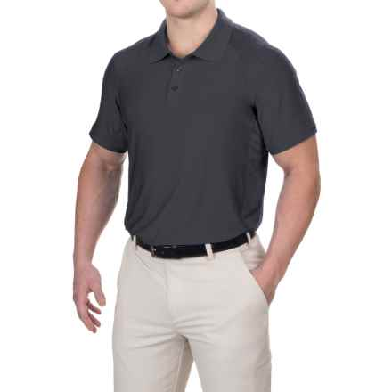Head Gotham Polo Shirt - Short Sleeve (For Men) in Black Heather - Closeouts