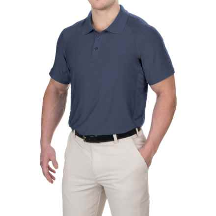 Head Gotham Polo Shirt - Short Sleeve (For Men) in Navy Heather - Closeouts