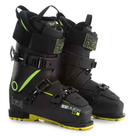 Head Hammer 110 Ski Boots (For Men) in Black/Yellow - Closeouts