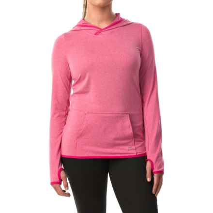 Head Heather Hoodie (For Women) in Bright Rose Heather - Closeouts