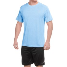 Head Heather Hypertek T-Shirt - Short Sleeve (For Men) in Cashmere Blue Heather - Closeouts