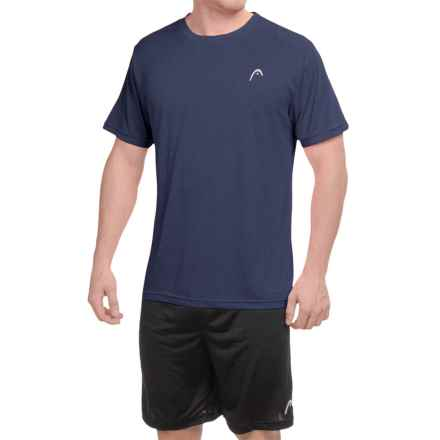 Head Heather Hypertek T-Shirt - Short Sleeve (For Men) in Navy Heather - Closeouts
