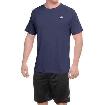 Head Heather Hypertek T-Shirt - Short Sleeve (For Men) in Navy Heather - Closeouts