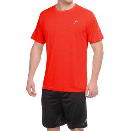 Head Heather Hypertek T-Shirt - Short Sleeve (For Men) in Tomato Heather - Closeouts
