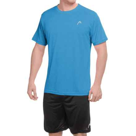 Head Heather Hypertek T-Shirt - Short Sleeve (For Men) in Vibrant Blue Heather - Closeouts