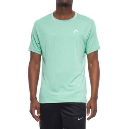Head Heathered Hypertek T-Shirt - Short Sleeve (For Men) in Mint Heather - Closeouts
