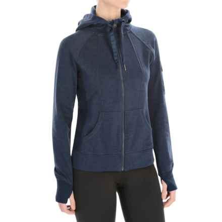 Head High Altitude Hoodie - Zip Front (For Women) in Iris Heather - Closeouts