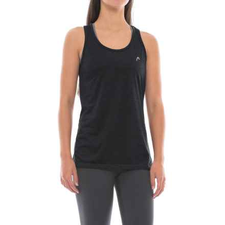 Head High Jump Digi Tank Top - Racerback (For Women) in Black Heather - Closeouts
