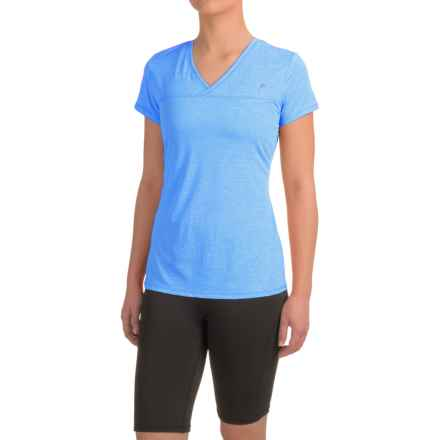 Head High Jump Mesh Shirt - Short Sleeve (For Women) in Directoire Blue Heather - Closeouts