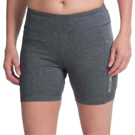 Head Hit the Roads Shorts (For Women) in Charcoal Heather - Closeouts