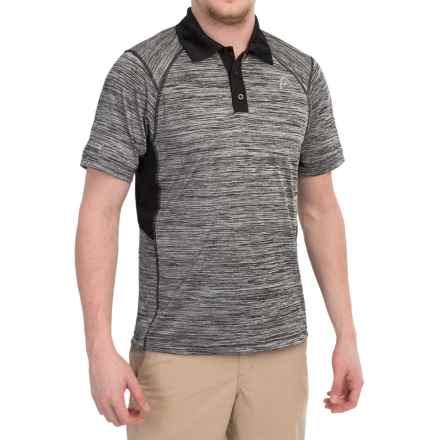 Head Hybrid High-Performance Polo Shirt - Short Sleeve (For Men) in Charcoal Heather - Closeouts